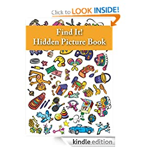 Kindle Daily Deal: Find It! Hidden Picture Book: Toys