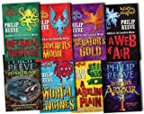 Mortal Engines Collection Philip Reeve 8 Books Set Pack RRP: £55.92 (Fever Crumb, Here Lies Arthur, Mortal Engines, Predators Gold, Infernal Devices, A Darkling Plain, A Web of Air, Scriveners Moon) Philip Reeve