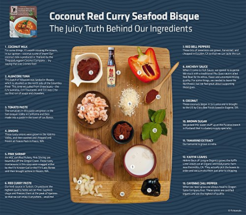 Fishpeople Coconut Red Curry Seafood Bisque, 10 Ounce Food, Beverages ...