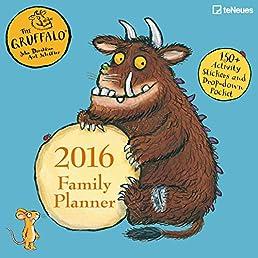2016 Gruffalo 30 x 30 Family Planner