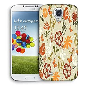 Snoogg Pattern Vector Element Designer Protective Back Case Cover For Samsung Galaxy S4