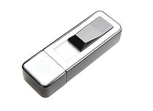 Wepeng encendedor USB para cigarrillos (6.5cm x 2cm x 1.2cm) de color blanco, Mod. 1907-01 DE   Más información y revisión del cliente