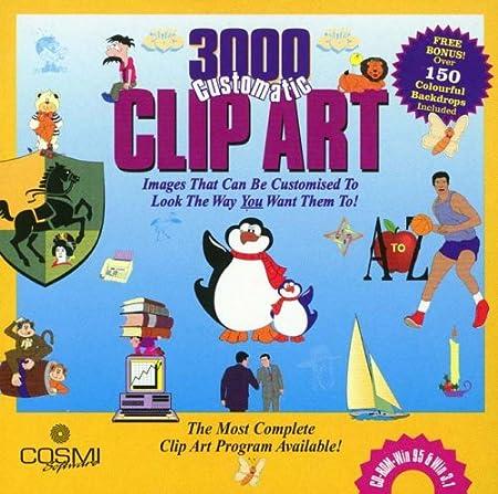 3000 Customatic Clip Art