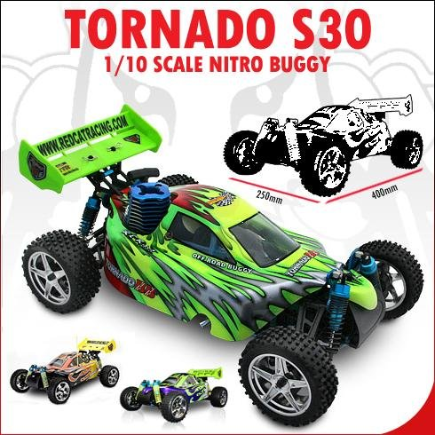Tornado ~ S30 Nitro Buggy ~ 1/10 Scale RC Car