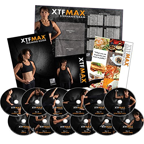 For Sale! XTFMAX: Find Your Shape - Women's Complete Home Fitness - 12 DVD Set
