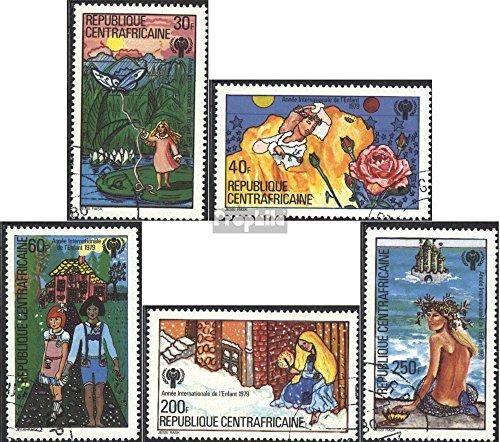 Zentralafrikanische Republik 643-647 (kompl.Ausg.) gestempelt 1979 Jahr des Kindes: Märchen (Briefmarken für Sammler)
