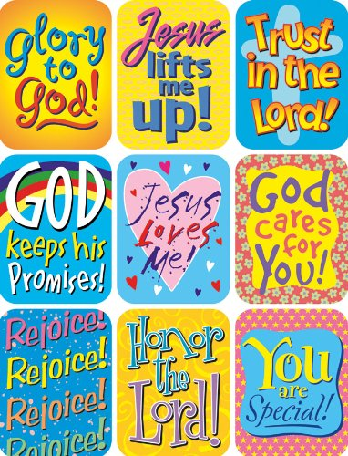 Eureka Inspirational Sayings Stickers