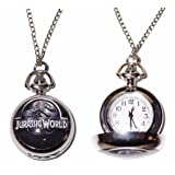 New Horizons Production Jurassic World Dinosaur Pendant Pocket Watch (Color: Multicolored)