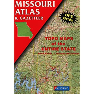 Missouri Atlas & Gazetteer