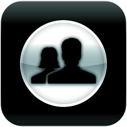 3D Black Tablet for Facebook