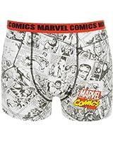 Marvel Mens M Comics Single Boxer Shorts Casual Printed Fashion Underwear