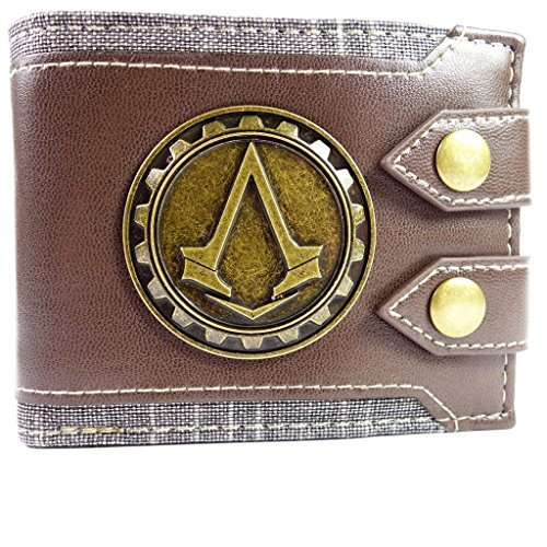 Ubisoft Assassins Creed Syndicate Jacob Logo Marrone portafoglio