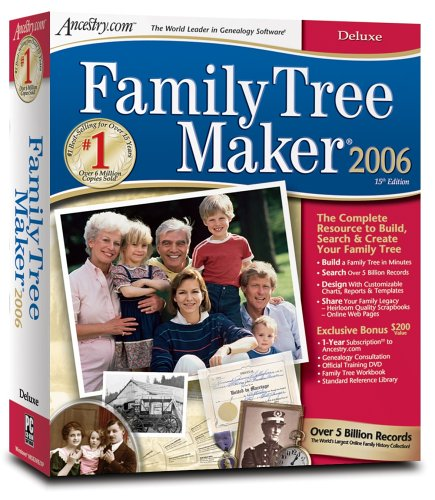 Family Tree Maker 2006 Deluxe [Old Version]