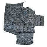 Majestic International Mens Satin Square Print Pajama Set