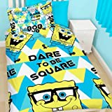 SpongeBob Squarepants Happy Reversible Single Duvet Bedding Set