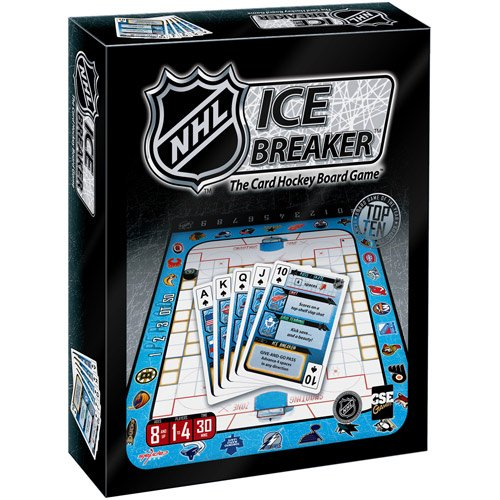 Sale alerts for CSE Games CSE Games Nhl Ice Breaker Card Game - Covvet