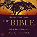 The Bible: The New Testament: The King James Version Audiobook by  Phoenix Audio Narrated by Gregory Peck