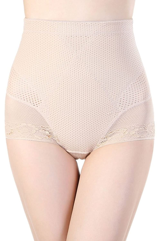 Cfanny Damen Spitzen- Pointelle Tummy Control Body Shaper kaufen