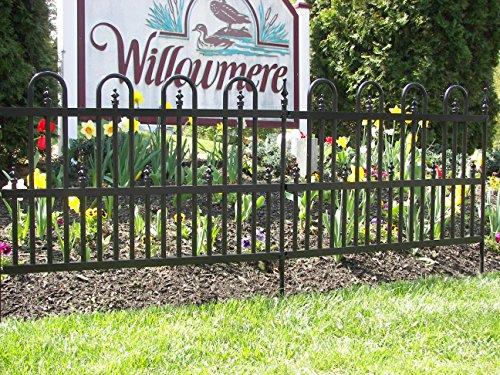 Specrail Roxbury Roxbury24sp Aluminum Garden Fence