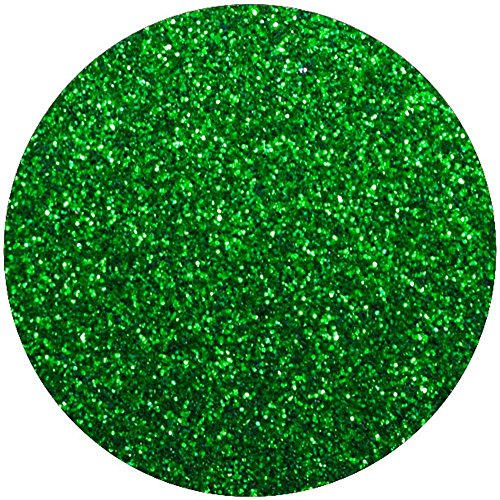 Vinyl Oasis Craft & Hobby Vinyl - Glitter Series Heat Transfer Vinyl - (1 Sheet) 12 in. x 20 in. - Grass Green (Heat Transfer Graphics compare prices)