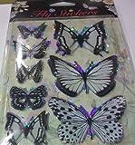 Butterflies 3d Fly Stickers