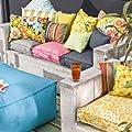 H.O.C.K. Matratzenkissen Outdoor Caribe von H.O.C.K. bei Gartenmöbel von Du und Dein Garten