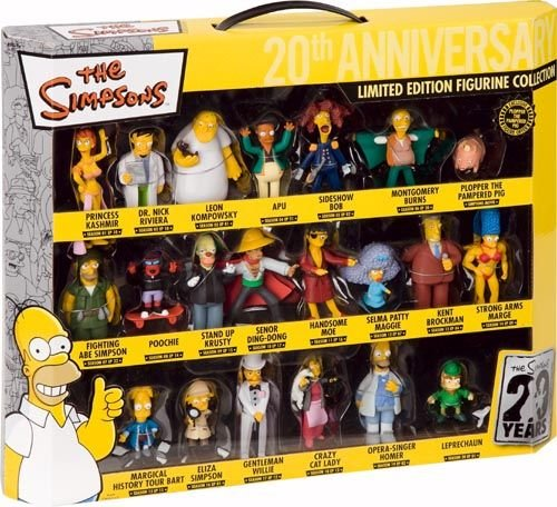 unitedlabels-0805390-21-teilig-3d-figuren-set-simpsons-limited-edition-the-simpsons