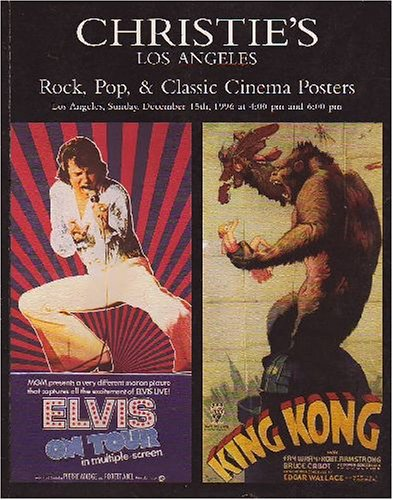 Rock, Pop & Classic Cinema Posters [Christie's, Los Angeles (7934) / 15 Dec 1996]