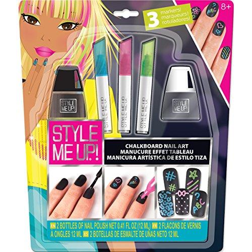 Style Me Up! Chalkboard Nail Art - 1