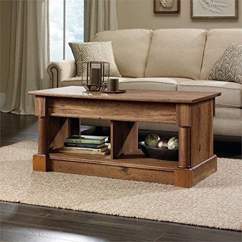 Ashley Cherry Wood Coffee Table: Sauder Palladia Lift Top Coffee Table In Vintage Oak