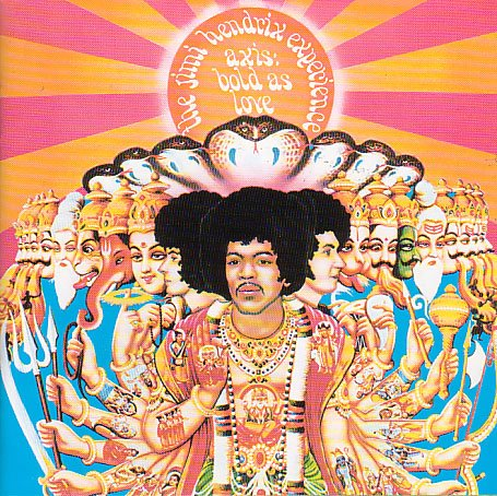 The Jimi Hendrix Experience - Axis: Bold as Love [Vinyl LP] - Zortam Music