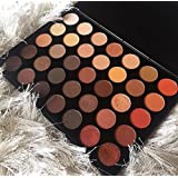 Morphe Brushes 350 - 35 Color Nature Glow Eyeshadow Palette (FULL SIZE) (Color: Pallette, Tamaño: FULL SIZE)