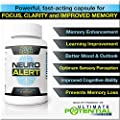 Neuro Alert - Give your Memory, Focus & Concentration Abilities a Healthy Boost * Get Stuff Done & Stop Forgetting Names, Faces, & Tasks * Enjoy Cognitive Clarity Without the 'Brain Fog' * Potent Amino Acids & Antioxidant Combination in 1 All Natural Herb