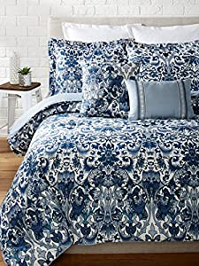 Amazon Com Full Queen Comforter Set Nicole Miller