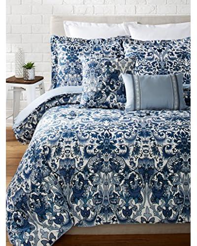 Nicole Miller Porcelain Comforter Set