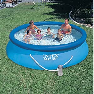 Intex Easy Set Pool - Blue with Filter Pump