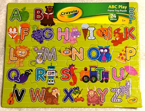 Crayola ABC Frame Tray Puzzle 24 Pieces