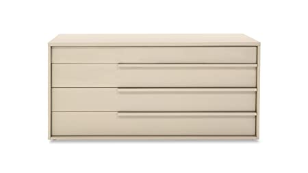 Blake High Gloss Dark Beige Dresser
