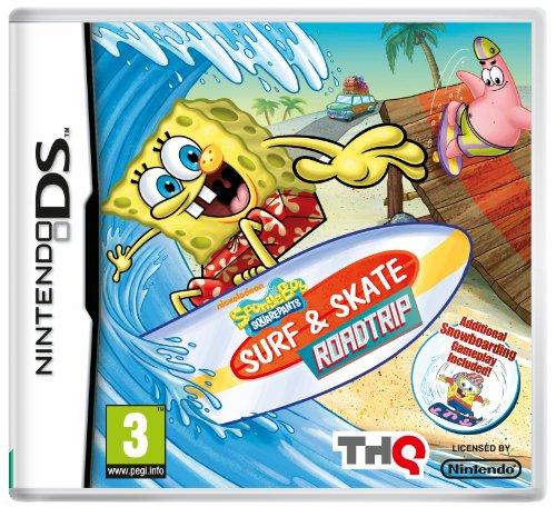 SpongeBob Surf and Skate Roadtrip  (Nintendo DS)