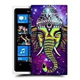 Head Case Designs Nebula Elephantism Hard Back Case Cover for Nokia Lumia 800