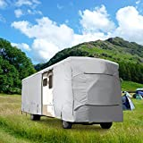 WATERPROOF SUPERIOR RV MOTORHOME FIFTH WHEEL COVER COVERS CLASS A B C FITS LENGTH 31'-34' NEW TRAVEL TRAILER CAMPER ZIPPERED PANELS ALLOW ACCESS TO THE DOOR, ENGINE AND BOTH SIDE STORAGE AREAS