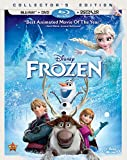 Frozen [Blu-ray + DVD + Digital Copy] (Bilingual)