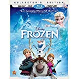 Super HOT! Frozen or Planes Blu-ray+DVD+Digital Copy – Just $13.00! HURRY!