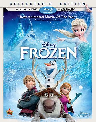 Frozen (Two-Disc Blu-ray