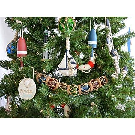 612EQGhhEuL._SS450_ Beach Christmas Ornaments and Nautical Christmas Ornaments