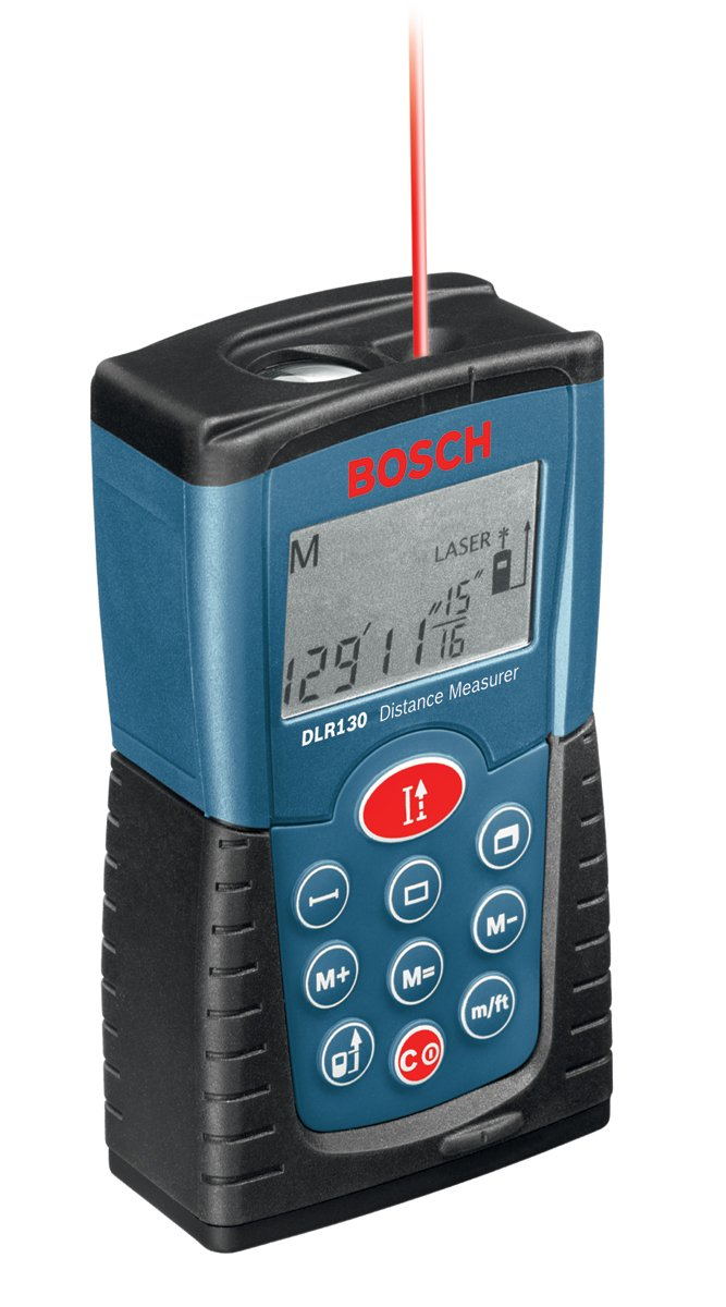 Bosch DLR130K Digital Distance Measurer Kit $62.99