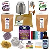 KKamp Continuous Brew Kombucha COMPLETE PACKAGE - Stainless Steel w/ Wood Stand