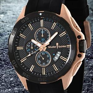 Studer Schild Eli Chronograph Mens Watch