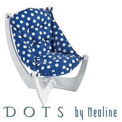 Azul marino Lunares–neoline sillón reclinable sofá Otomano