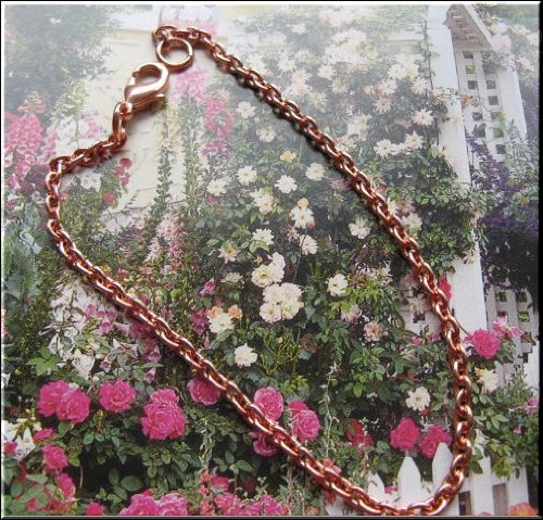 Solid Copper 9 Inch Anklet CA10385